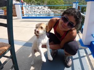 Elisa, Katerina's super cute dog.