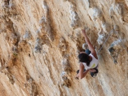 Sandra Berlin on DNA, Grande Grotta - Kalymnos
