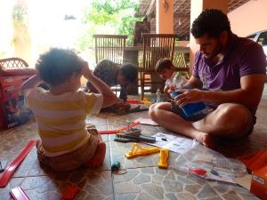 Christmas day play time