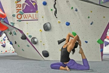 Yoga for Climbers at HarroWall